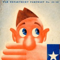 Image of War Department Pamphlet Number 20-10 - This item is a pamphlet produced by the War Department during World War II.  It was given to returning soldiers, and covers the importance of secrecy when talking to friends and family about information related to the war.