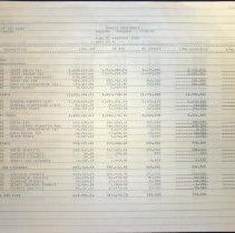 Image of Budget Worksheet, 1995