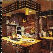 Image of Cook Book: Favorite Recipes From Our Best Cooks - This item is a cookbook compiled by the Faith Ladies Aid of Faith Lutheran Church in Oak Lawn.  The cover features an image of a kitchen and the title in yellow lettering.