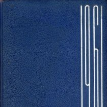 Image of Aries, 1961 - This item is the 1961 yearbook from Reavis High School located in Burbank.  The cover is blue in color with white lettering.