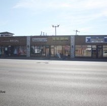 Image of 95th Street Oak Lawn - This is a photograph of La Joli Mode Bridal, Annie's Limited, Baseball Card King, and The Goalpost located on 95th Street and 52nd Avenue.