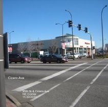 Image of 95th Street Oak Lawn - This is a photograph of Walgreens located on the northeast corner 95th Street and Cicero Avenue. Advocate Christ Medical Center is visible on the far right.