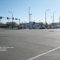 Image of 95th Street Oak Lawn - This is a photograph of White Castle located on the southeast corner 95th Street and Cicero Avenue.