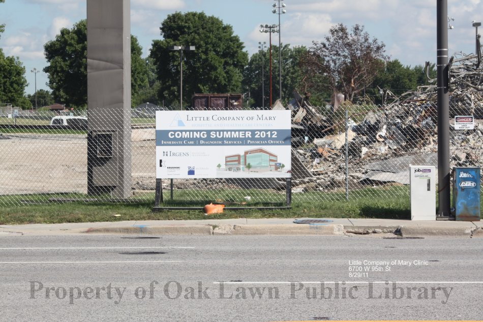 Little Company Of Mary Clinic This Is A Photograph Of Demolition