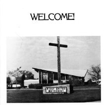 Image of Welcome! brochure
