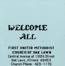 Image of Welcome All brochure