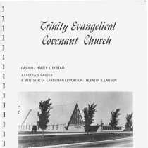 Image of Trinity Evangelical Covenant Church Directory - Directory of the members of Trinity Evangelical Covenant Church.  Includes photographs, names, and addresses.