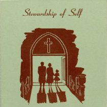 Image of Yearbook, 1957 - Yearbook of the Women's Missionary Society of Trinity Evangelical Lutheran Church.  Includes a detailed listing of each month's planned program, a list of officers, and membership telephone list.