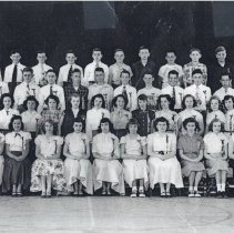 Image of Covington School Graduating Class, 1952