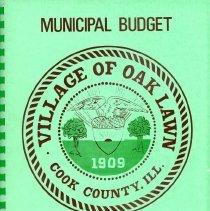 Image of Proposed Village Budget, 1967-1968