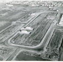 Image of Aerial Photograph of Briggs Oak Heights - Aerial photo of Briggs Oak Heights subdivision in 1957.