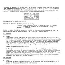Image of Board of Appeals Minutes, 1968