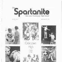 Image of 1972-1982, Oak Lawn Community High School Spartanite Newspapers