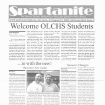 Image of 2003-2010, Oak Lawn Community High School Spartanite Newspapers