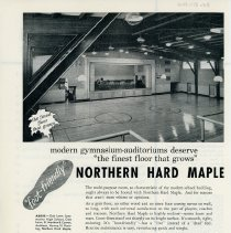 Image of Maple Flooring Advertisement