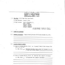 Image of Village of Oak Lawn Board of Trustees Minutes, 1978 - Minutes of the Oak Lawn Board of Trustees for the year 1978.