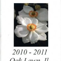 Image of Oak Lawn Garden Club Directory, 2010-2011 - Directory published by the Oak Lawn Garden Club for the years 2010-2011.  Includes a brief history and list of past presidents, current officers, chairwomen and hostesses, a list of scheduled programs, a membership list, the yearly budget, and the club's by-laws.