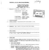Image of Village of Oak Lawn Board of Trustees Minutes, 1991 - Minutes of the Oak Lawn Board of Trustees for the year 1991.