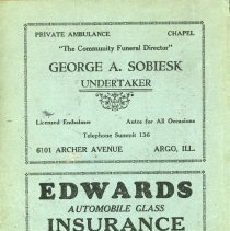 Image of 1928 - 1929, Oak Lawn Telephone Directory