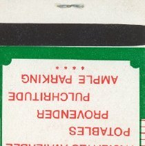 Image of Fox's Oak Lawn Pub Matchbook - This item is a matchbook from Fox's Oak Lawn Pub located at 9240 South Cicero Avenue.  The cover is red, white, and green in color and features a small image of Ireland.