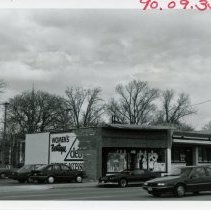 Image of 5100 West Block of 95th Street - This is a photograph of the 5100 block of 95th street focusing on the north side. The Cleo Women's Boutique, located at 5102 West 95th Street, is shown.