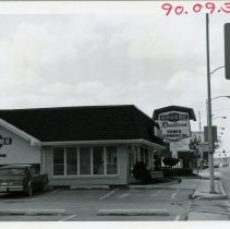 Image of 5100 West Block of 95th Street - This is a photograph of the 5100 block of 95th street focusing on the south side. Groebe Realtors, located at 5041 West 95th Street, is shown.
