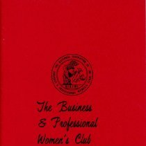 Image of Business and Professional Women's Club of Oak Lawn Directory, 1970-1971 - Membership directory of the Business and Professional Women's Club of Oak Lawn for the year 1970-71.  Lists officers, committee chairwomen, objectives, planned programs, and the name, address, and telephone number of each member.