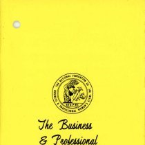 Image of Business and Professional Women's Club of Oak Lawn Directory, 1971-1972 - Membership directory of the Business and Professional Women's Club of Oak Lawn for the year 1971-72.  Lists officers, committee chairwomen, objectives, planned programs, and the name, address, and telephone number of each member.