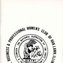 Image of Business and Professional Women's Club of Oak Lawn Directory, 1977-1978 - Membership directory of the Business and Professional Women's Club of Oak Lawn for the year 1977-78.  Lists officers, committee chairwomen, objectives, planned programs, and the name, address, and telephone number of each member.