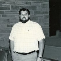 Image of Southwest Christian Missionary Alliance - This is a photograph of Southwest Christian Missionary Alliance formerly located at 9535 South Kildare Avenue. This image shows Past Thomas Lopez.
