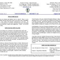 Image of Your Schools, 2009-2010 - Compilation of the newsletters published by the Alsip, Hazelgreen, Oak Lawn School District 126 covering the 2009-10 academic year.