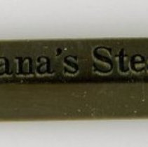 Image of Banana's Steak House Pencil