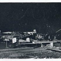 Aftermath Of The 1967 Oak Lawn Tornado