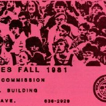 Image of Youth Services, Fall 1981 - Flier published by the Oak Lawn Youth Commission promoting the counseling, recreational, and employment services offered.