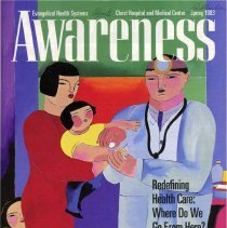 Image of Awareness, 1993-1995 - Magazine published by the Advocate Christ Medical Center from 1993-95.  It includes numerous articles on health concerns and hospital services.