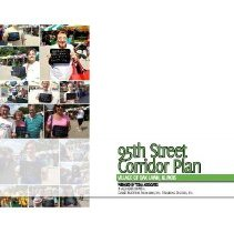 Image of 95th Street Corridor Plan, 2014 - The 95th Street Corridor Plan was developed in 2014 for the purpose of transforming 95th Street in a gateway into the Oak Lawn community.  Transportation, streetscape, land use, zoning, and implementation strategies are addressed.  Includes numerous maps, statistics, and photographs.