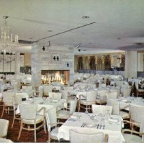 Image of Jack Kilty's Restaurant Postcard - This item is a postcard from Jack Kilty's Restaurant located at 4545 West 95th Street. The front features an image of the dining area while the back contains information and written message.