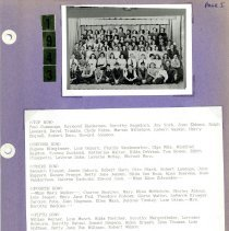 Image of Betty Bragalone Scrapbook #1 - Scrapbook assembled by Betty Bragalone as part of the preparation for the 1993 Covington School class of 1943 50th anniversary reunion.  Includes photographs, newspaper articles and letters.