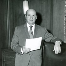Image of Vincent J. Barcelona, President of Colonial Savings and Loan - This is a photograph of Vincent J. Barcelona, President of Colonial Savings and Loans.