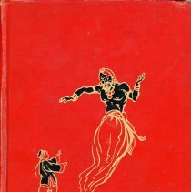 Image of Favorite Fairy Tales - This item is a book used at the Columbus Manor School in Oak Lawn. It has a red cover and features a number of fairy tales written for children.