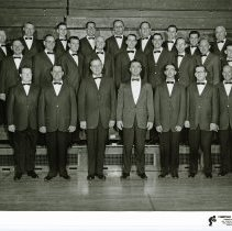 Image of Southwest Suburban Chapter of S.P.E.B.S.Q.S.A. - This is a photograph of the Southwest Suburban Chapter of the S.P.E.B.S.Q.S.A. (Society for the Preservation and Encouragement of Barbershop Quartet Singing in America)