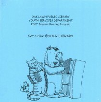 """Image of Youth Services Summer Reading Program Statistics, 2007 - Compilation of statistics regarding the Youth Services' reading program conducted during the summer of 2007 (""""Get a Clue @ YOUR LIBRARY"""").  Includes information on schools attended, grade levels, adjunct programs, attendance figures, and more."""