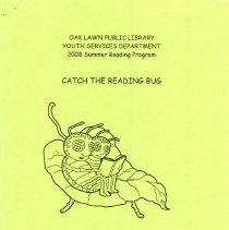 """Image of Youth Services Summer Reading Program Statistics, 2008 - Compilation of statistics regarding the Youth Services' reading program conducted during the summer of 2008 (""""Catch the Reading Bug"""").  Includes information on schools attended, grade levels, adjunct programs, attendance figures, and more."""