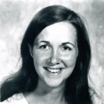 Image of Sharon P. Quinn - This is a photograph of Sharon P. Quinn, one of the top ten students of the 1975 senior class at Harold L. Richards High School.