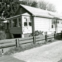 Image of Tulley House - This is a photograph of a house located at 9429 S. Tulley Avenue. It was razed to make room for a parking lot.