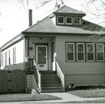 Image of 9700 S 53rd Avenue House - This is a photograph of a house located at 9700 S. 53rd Avenue. Built in 1927, it was owned by Olaf Christiansen family until his death in 1958. Olaf Christiansen was a village trustee from 1945 to 1951.