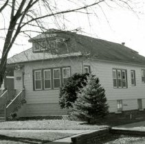 Image of 9700 S. 53rd Avenue House - This is a photograph of a house located at 9700 S. 53rd Avenue. Built in 1927, it was owned by Olaf Christiansen family until his death in 1958. Olaf Christiansen was a village trustee from 1945 to 1951.