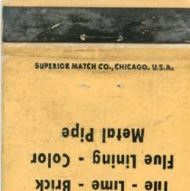 Image of William Brandt and Son Matchbook - This item is a matchbook for William Brandt and Son Incorporated located at 9520 South 51st Avenue in Oak Lawn. The cover is tan in color and advertises various building materials.