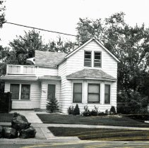 Image of Skinner House - This is a photograph of the front exterior of the Skinner home located at 9528 S. 54th Avenue. The home is believed to have been constructed prior to 1900.