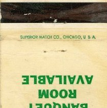 Image of Zale's Coffee Shop Matchbook - This item is a matchbook from Zale's Coffee Shop located at 5900 West 79th Street. Although the address is listed as Oak Lawn, this location now resides north of the Village.